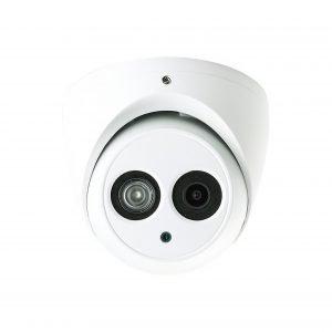 "1/3"" 4MP HD-CVI IR Dome Camera, 2.8mm Lens, IP67, DC12V, 164' IR, UL Listed"