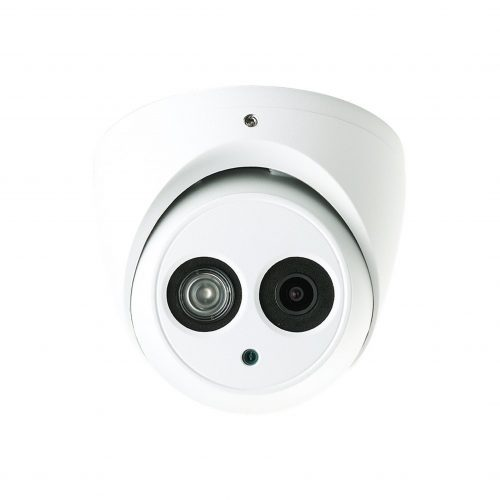 "1/3"" 4MP HD-CVI IR Dome Camera, 2.8mm Lens, IP67, DC12V, 164' IR, UL Listed"
