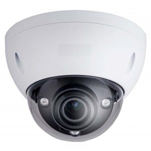 3MP Motorized Dome, 2.7-12mm Lens, 20fps@3MP, 30fps@1080p, IP66, IK10, 98' IR, PoE