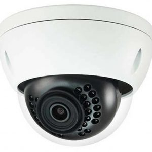"1/2.5"" 8MP IR Mini-Dome Network Camera, H.265+, 4mm Lens, 15fps@8MP, IP67, IK10, 131' IR, PoE, Micro-SD Slot, UL Listed"