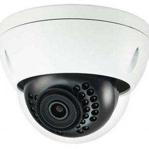 "1/2.5"" 8MP IR Mini-Dome Network Camera, H.265+, 4mm Lens, 15fps@8MP, IP67, IK10, 131' IR, PoE, Micro-SD Slot, UL Listed"