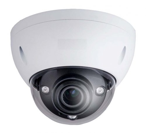 4MP WDR IR Dome Network Camera, H.265+, 2.7-12mm Lens, 30fps@4MP, IP67, 164' IR, PoE, AC24V/DC12V, Micro-SD Slot, UL Listed