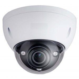 "1/2.5"" 8MP IR Dome Network Camera, H.265+, 2.7-12mm Lens, 15fps@8MP, IP67, IK10, 164' IR, PoE, Micro-SD Slot, UL Listed"