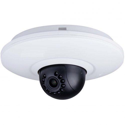 "1/2.8"" 2MP Full HD Wi-Fi IR Mini PT Dome Camera, 3.6mm Lens, +/- 180 Pan, 90 Tilt, 30fps@2MP, 60fps@1MP, 49' IR, PoE, Built in Mic"