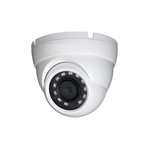 "1/3"" 4MP WDR IR Eyeball Network Camera, 2.8mm Lens, 20fps@4MP, 30fps@1080p, IP67, 98' IR, PoE, UL Listed"