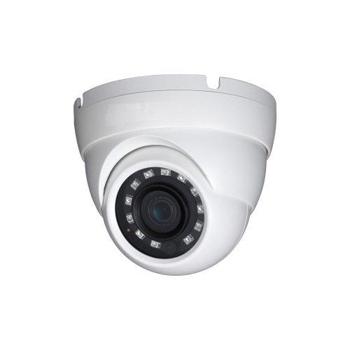 "1/3"" 4MP WDR IR Eyeball Network Camera, 3.6mm Lens, 20fps@4MP, 30fps@1080p, IP67, 98' IR, PoE, UL Listed"