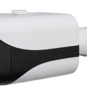 "1/2.5"" 8MP IR Mini Bullet Network Camera, H.265+, 4mm Lens, 15fps@8MP, IP67, 131' IR, PoE, AC24V/DC12V, Micro-SD Slot, UL Listed"