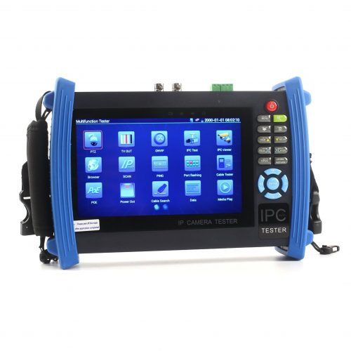 """IP Camera Test Monitor, ONVIF Support, CCTV, PTZ, PoE Tester, 7"""" LCD"""