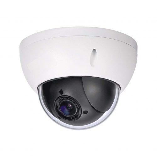 "1/2.7"" 2MP 4x PTZ Network Camera, 2.7-11mm Motorized Lens, 30fps@2MP, 60fps@1MP, Micro-SD Slot, PoE, IP66, IK10, WDR, DC12V, PoE, UL Listed"