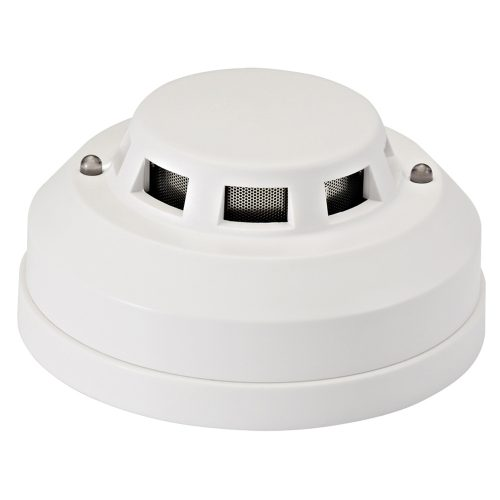 Wired Home Photoelectric Natural Gas Leak Sensor Detector Alarm - White