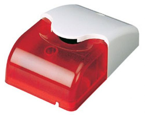 Wired Mini Strobe Motion Alarm with Red LED Light (DC12V)