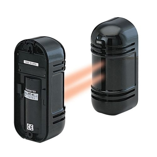Indoor/Outdoor Photoelectric Dual Beam Motion Sensor Up to 550 ft. (Indoor) /180 ft. (Outdoor)