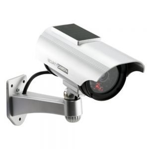 Dummy Camera with Solar Powered LED Light