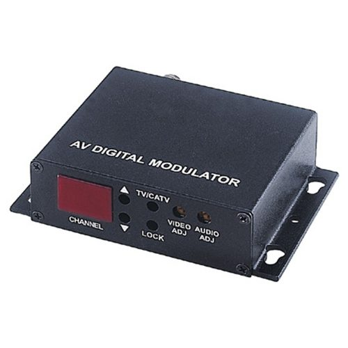 Video and Audio Signal to TV Channel Modulator