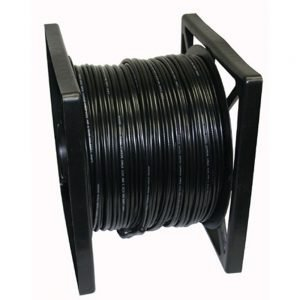 500ft 95% SIAMESE CABLE-Black Color