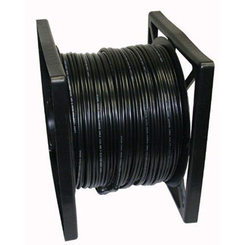 500ft 95% SIAMESE CABLE-Black Color