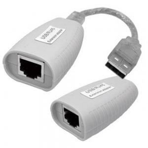 USB Trans Via Cat5E Transceiver Extends Up to 150ft Self-Powered